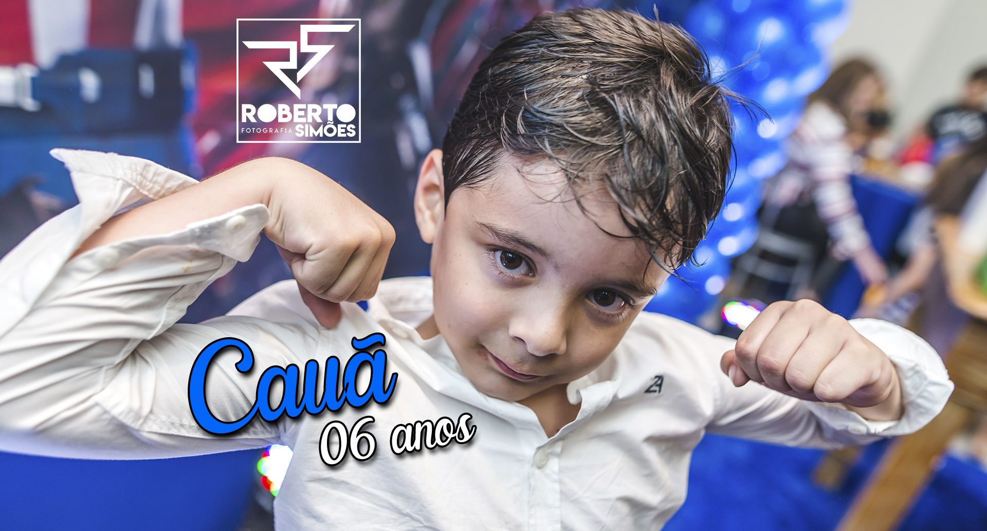 06 anos do Cauã / Buffet Infantil Gym Park